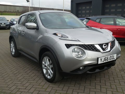 Nissan Juke 1.2 Dig T N Connecta SUV 5dr Petrol (s/s) (115 Ps) | YJ66EGL