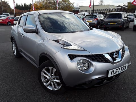 Nissan Juke 1.2 Dig T Acenta SUV 5dr Petrol (s/s) (115 Ps) | YL67XRX