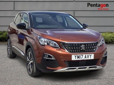 Peugeot 3008 1.2 Puretech Allure SUV 5dr Petrol (s/s) (130 Ps) | YM17AVY