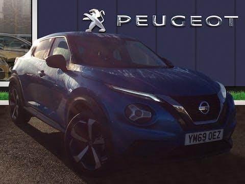 Nissan Juke 1.0 Dig T Tekna SUV 5dr Petrol Dct Auto (s/s) (117 Ps) | YM69OEZ