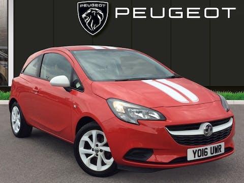 Vauxhall Corsa 1.4i Ecoflex Sting Hatchback 3dr Petrol (75 Ps) | YO16UWR