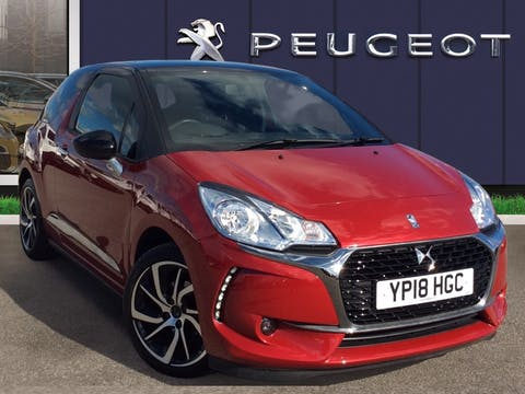 DS Automobiles DS 3 1.2 Puretech Connected Chic Hatchback 3dr Petrol (82 Ps) | YP18HGC