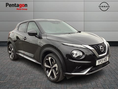 Nissan Juke 1.0 Dig T Tekna SUV 5dr Petrol Dct Auto (s/s) (114 Ps)   YP21HDE