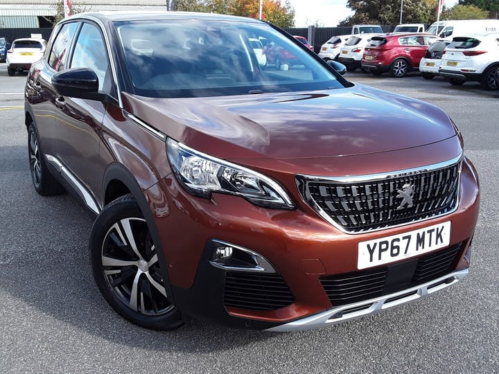 Peugeot 3008 1.6 Bluehdi Allure SUV 5dr Diesel Eat (s/s) (120 Ps) | YP67MTK | Photo 1