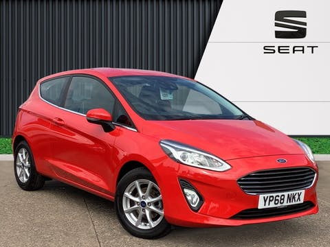 Ford Fiesta 1.1 Ti Vct Zetec Hatchback 3dr Petrol Manual (s/s) (85 Ps) | YP68NKX