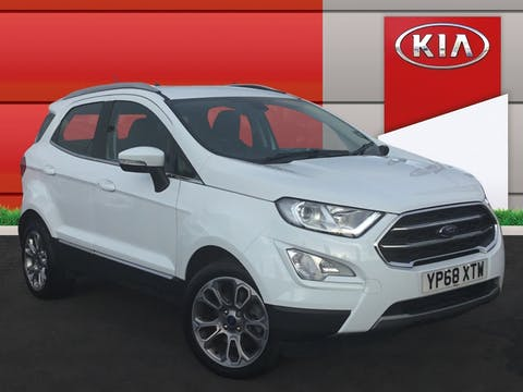 Ford EcoSport 1.0t Ecoboost Titanium SUV 5dr Petrol Auto (s/s) (125 Ps) | YP68XTW
