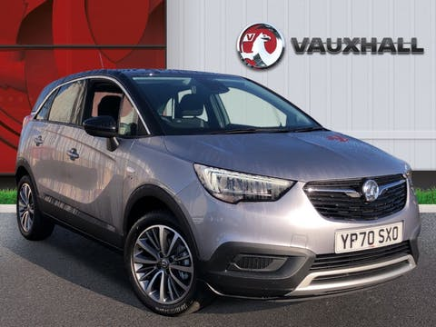 Vauxhall Crossland X 1.2 Turbo Ecotec Griffin SUV 5dr Petrol Manual (s/s) (110 Ps) | YP70SXO
