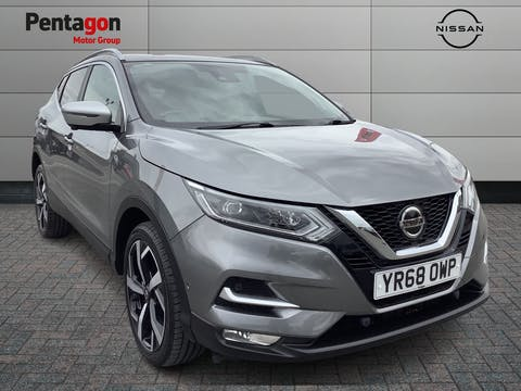Nissan Qashqai 1.5 DCi Tekna+ SUV 5dr Diesel Manual (s/s) (110 Ps) | YR68OWP