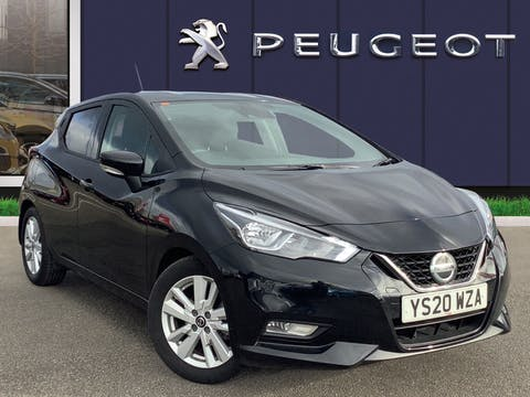 Nissan Micra 1.0 Ig T Acenta Limited Edition Hatchback 5dr Petrol Xtron (s/s) (100 Ps)   YS20WZA