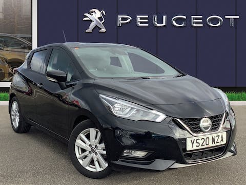 Nissan Micra 1.0 Ig T Acenta Limited Edition Hatchback 5dr Petrol Xtron (s/s) (100 Ps) | YS20WZA