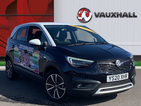 Vauxhall Crossland X 1.2 Elite Nav SUV 5dr Petrol Manual (s/s) (83 Ps) | YS20XHR