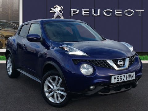 Nissan Juke 1.2 Dig T N Connecta SUV 5dr Petrol (s/s) (115 Ps) | YS67HVM