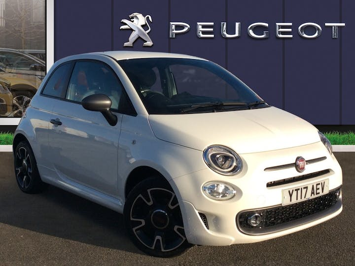 FIAT 500 1.2 8V S Hatchback 3dr Petrol Manual (s/s) (69 Bhp) | YT17AEV | Photo 1