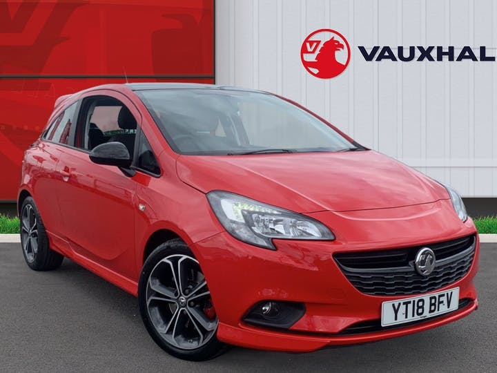 Vauxhall Corsa 1.4i Turbo Red Edition Hatchback 3dr Petrol (s/s) (150 Ps)   YT18BFV   Photo 1