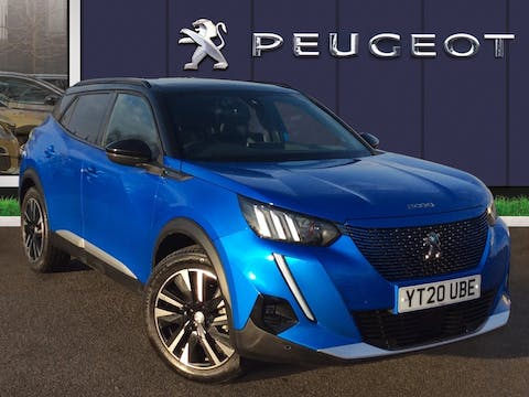 Peugeot 2008 50kwh GT Line SUV 5dr Electric Auto (136 Ps) | YT20UBE