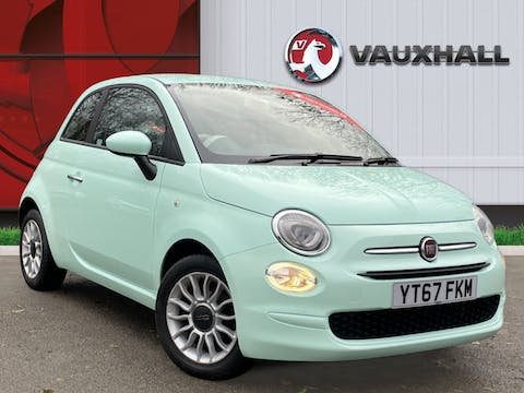 FIAT 500 1.2 8V Eco Pop Star Hatchback 3dr Petrol Manual (s/s) (69 Bhp) | YT67FKM