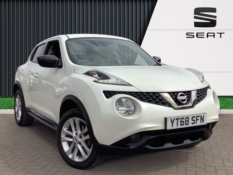 Nissan Juke 1.2 Dig T Bose Personal Edition SUV 5dr Petrol (s/s) (115 Ps) | YT68SFN