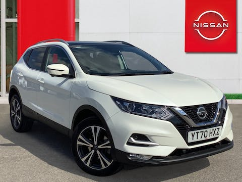 Nissan Qashqai 1.5 DCi N Connecta SUV 5dr Diesel Dct Auto (s/s) (115 Ps) | YT70HXZ