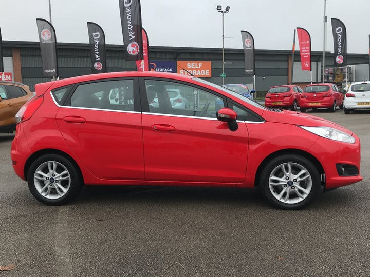Ford Fiesta 1.25 Zetec Hatchback 5dr Petrol Manual (eu6) (122 G/km, 81 Bhp) | FP64VOA | Photo 11