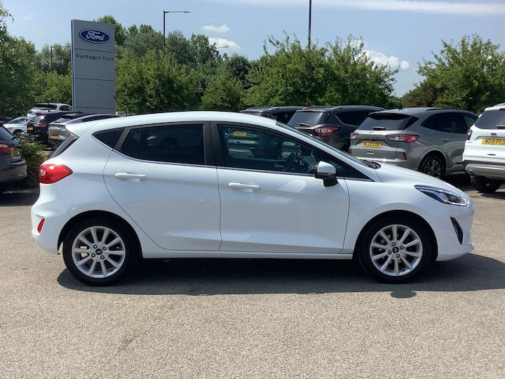 Ford Fiesta 1.0t Ecoboost Titanium Hatchback 5dr Petrol Manual (s/s) (100 Ps) | MA67HFX | Photo 11