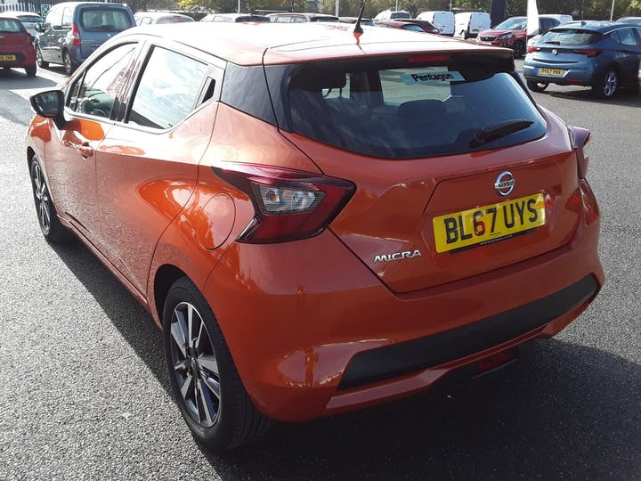 Nissan Micra 0.9 Ig T Acenta Limited Edition Hatchback 5dr Petrol Manual (s/s) (90 Ps) | BL67UYS | Photo 12