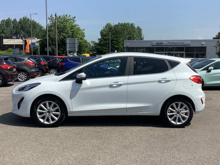 Ford Fiesta 1.0t Ecoboost Titanium Hatchback 5dr Petrol Manual (s/s) (100 Ps) | MA67HFX | Photo 12