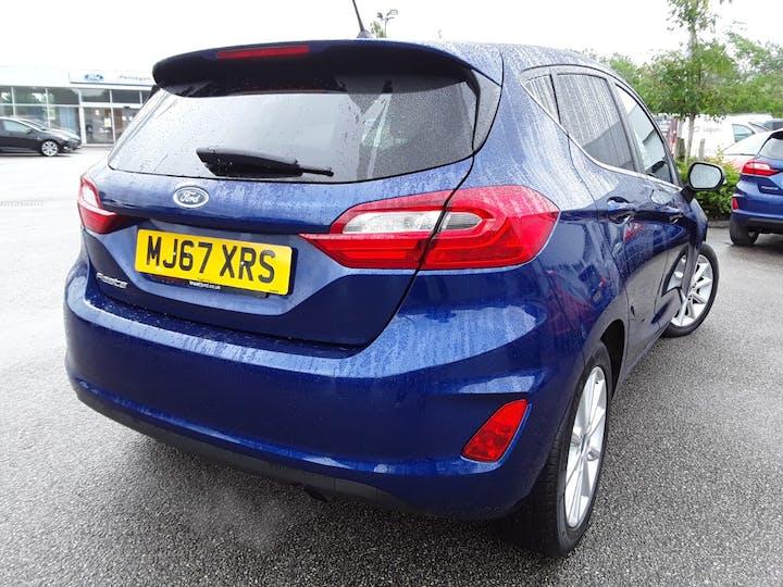 Ford Fiesta 1.0t Ecoboost Titanium Hatchback 5dr Petrol Manual (s/s) (100 Ps)   MJ67XRS   Photo 12