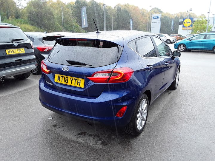 Ford Fiesta 1.0t Ecoboost Titanium Hatchback 5dr Petrol Manual (s/s) (100 Ps) | MT18YTH | Photo 12