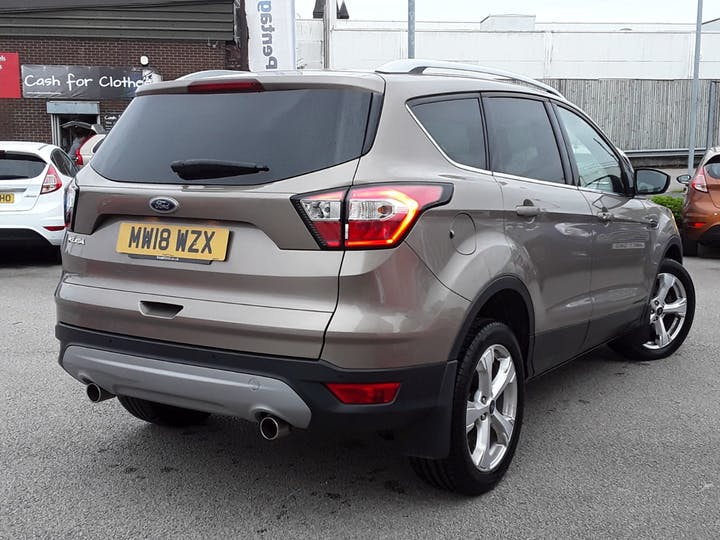 Ford Kuga 2.0 TDCi Titanium X SUV 5dr Diesel Manual (s/s) (150 Ps) | MW18WZX | Photo 12