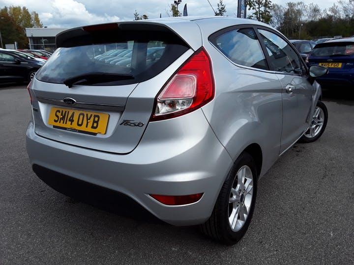 Ford Fiesta 1.0 Ecoboost Zetec Hatchback 3dr Petrol Manual (s/s) (99 G/km, 99 Bhp) | SM14OYB | Photo 12