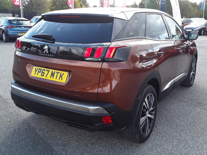 Peugeot 3008 1.6 Bluehdi Allure SUV 5dr Diesel Eat (s/s) (120 Ps) | YP67MTK | Photo 12