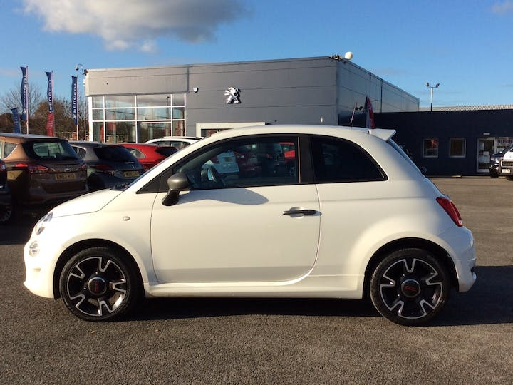 FIAT 500 1.2 8V S Hatchback 3dr Petrol Manual (s/s) (69 Bhp) | YT17AEV | Photo 12