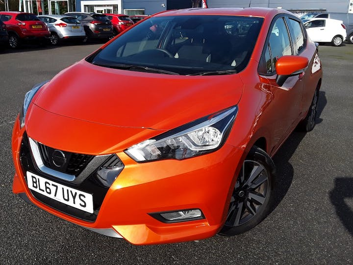 Nissan Micra 0.9 Ig T Acenta Limited Edition Hatchback 5dr Petrol Manual (s/s) (90 Ps) | BL67UYS | Photo 13