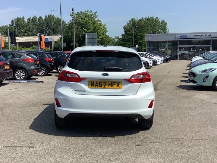 Ford Fiesta 1.0t Ecoboost Titanium Hatchback 5dr Petrol Manual (s/s) (100 Ps) | MA67HFX | Photo 14