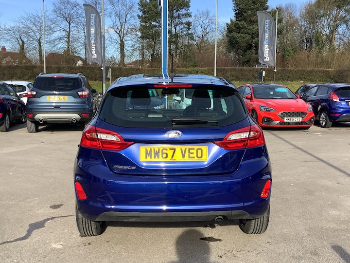 Ford Fiesta 1.1 Ti Vct Zetec Hatchback 3dr Petrol Manual (s/s) (85 Ps) | MW67VEO | Photo 14