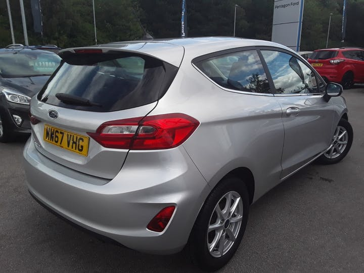 Ford Fiesta 1.1 Ti Vct Zetec Hatchback 3dr Petrol Manual (s/s) (85 Ps) | MW67VHG | Photo 14