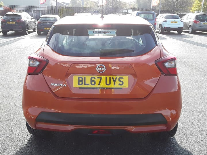 Nissan Micra 0.9 Ig T Acenta Limited Edition Hatchback 5dr Petrol Manual (s/s) (90 Ps) | BL67UYS | Photo 15