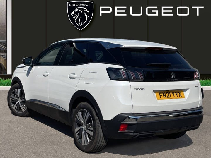 Peugeot 3008 1.6 13.2kwh Allure SUV 5dr Petrol Plug In Hybrid E Eat (s/s) (225 Ps)   FN21YYX   Photo 2
