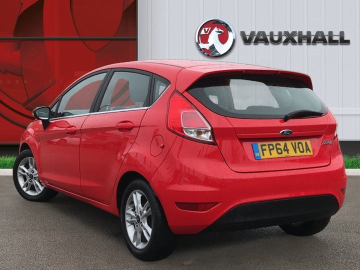 Ford Fiesta 1.25 Zetec Hatchback 5dr Petrol Manual (eu6) (122 G/km, 81 Bhp) | FP64VOA | Photo 2
