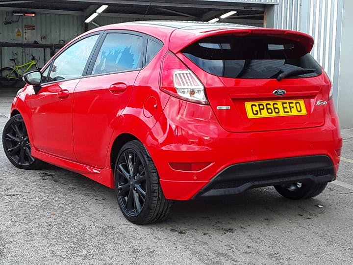 Ford Fiesta 1.0 T Ecoboost St Line Hatchback 5dr Petrol Manual (s/s) (104 G/km, 138 Bhp) | GP66EFO | Photo 2