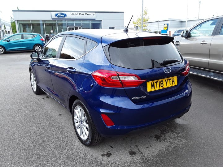 Ford Fiesta 1.0t Ecoboost Titanium Hatchback 5dr Petrol Manual (s/s) (100 Ps) | MT18YTH | Photo 2