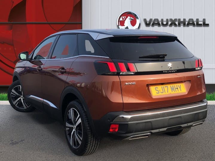 Peugeot 3008 1.6 Bluehdi GT Line SUV 5dr Diesel Eat (s/s) (120 Ps) | SJ17MHY | Photo 2