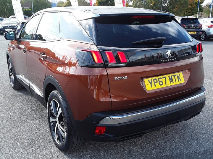 Peugeot 3008 1.6 Bluehdi Allure SUV 5dr Diesel Eat (s/s) (120 Ps) | YP67MTK | Photo 2