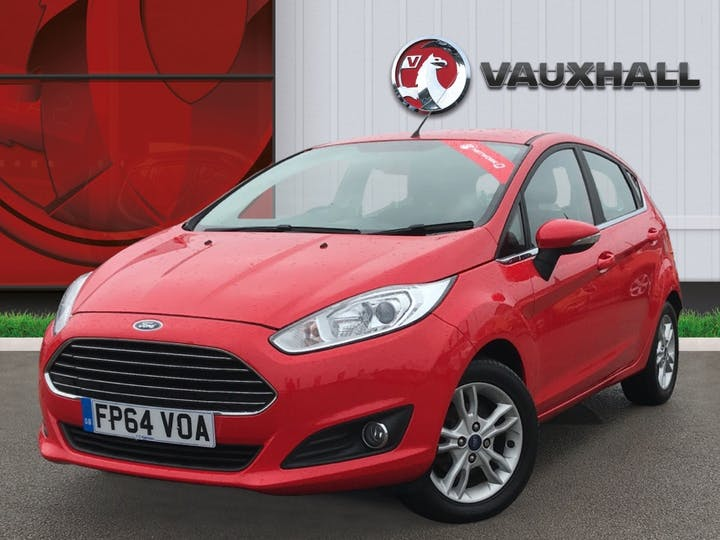 Ford Fiesta 1.25 Zetec Hatchback 5dr Petrol Manual (eu6) (122 G/km, 81 Bhp) | FP64VOA | Photo 3