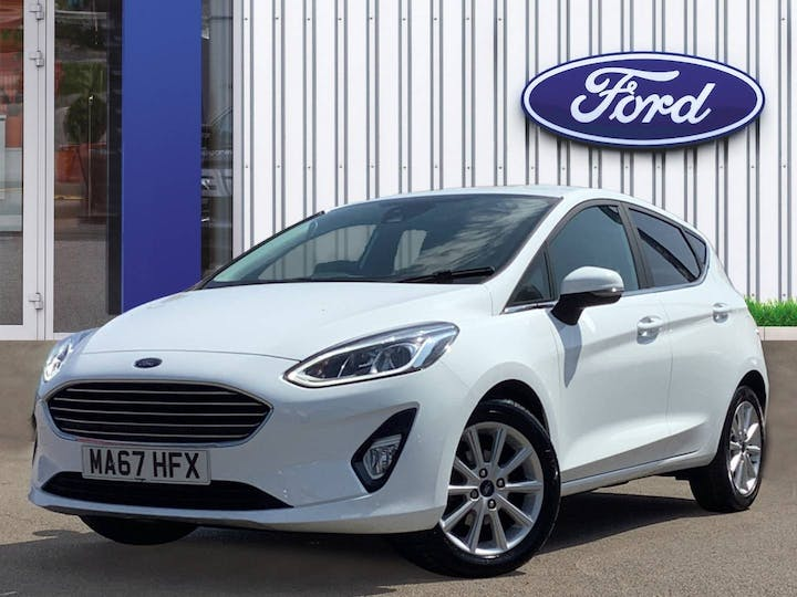 Ford Fiesta 1.0t Ecoboost Titanium Hatchback 5dr Petrol Manual (s/s) (100 Ps) | MA67HFX | Photo 3