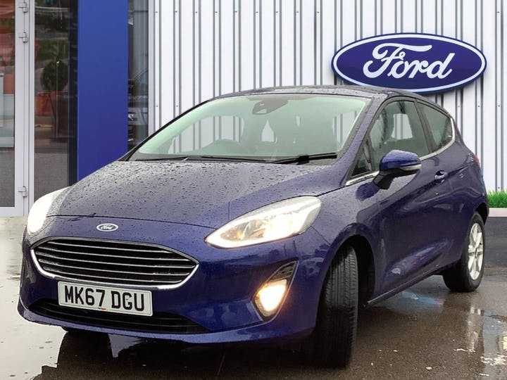 Ford Fiesta 1.0t Ecoboost Zetec Hatchback 3dr Petrol Manual (s/s) (100 Ps) | MK67DGU | Photo 3