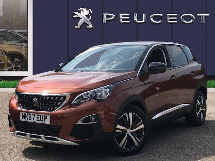 Peugeot 3008 1.2 Puretech Allure SUV 5dr Petrol Eat (s/s) (130 Ps) | MK67EUP | Photo 3