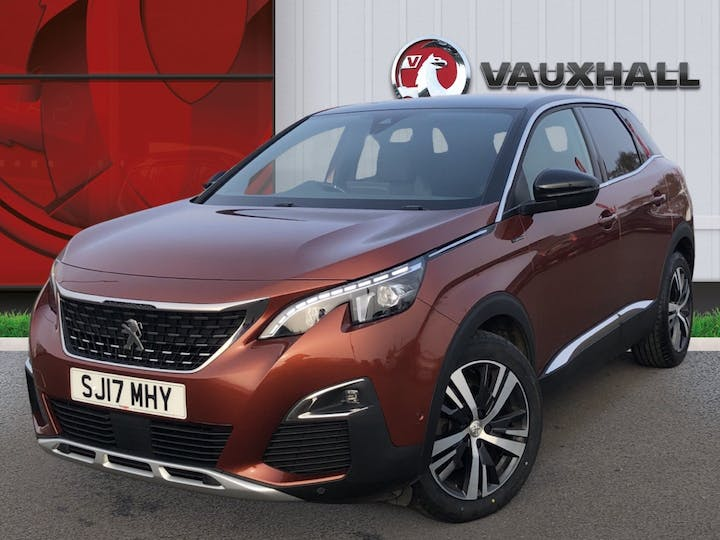 Peugeot 3008 1.6 Bluehdi GT Line SUV 5dr Diesel Eat (s/s) (120 Ps) | SJ17MHY | Photo 3