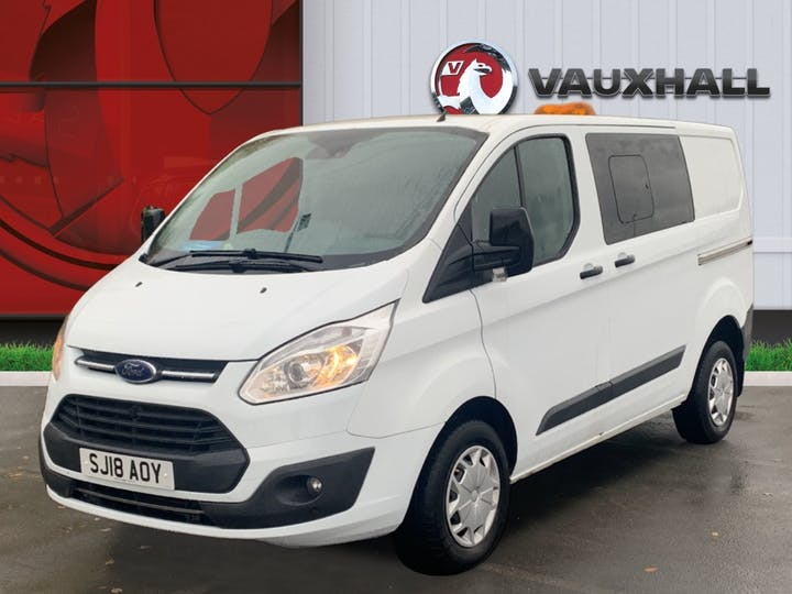 Ford Transit Custom 310 2.0 TDCi 130PS Trend Low Roof Doublecab   SJ18AOY   Photo 3