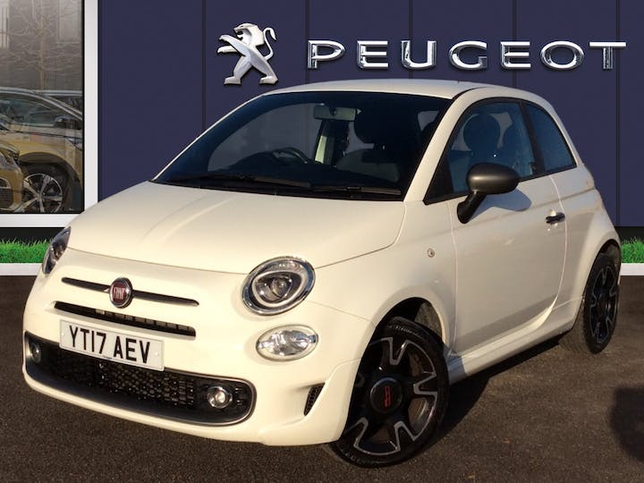 FIAT 500 1.2 8V S Hatchback 3dr Petrol Manual (s/s) (69 Bhp) | YT17AEV | Photo 3